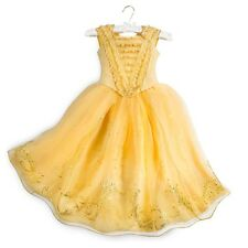 NEW Disney Store Beauty and Beast Belle Limited Edition Dress Costume Girls 6
