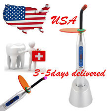 USA Dental Wireless Cordless LED 5W Curing Light Lamp 1500mw 3-5days Silver