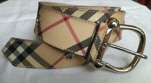 Burberry women belt