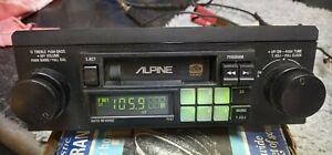 Vintage ALPINE 7167  DIGITAL FM/AM CASSETTE Needs Some TLC