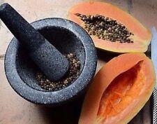 200g (7.05 OZ) secas semillas de papaya en polvo Herbal Health 100% Puro Orgánico no modificados genéticamente