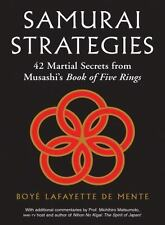 Samurai Strategies: 42 Martial Secrets from Musashi's Book of Five Rings (The Sa
