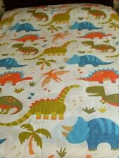 "BOYS DUVET COVER ""DINOSAURS"" by SUSAN GEORGE. GOOD CLEAN CONDITION"