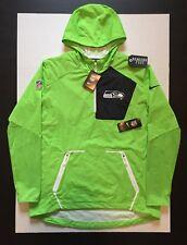 Nike Seattle Seahawks NFL Men's Alpha Fly Rush 1/4 Zip Jacket 746371 Size XL