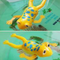 Plastic Swimming Frog Bath Toy for Kids Baby Frog Bathroom Toy Clockwork Wind Up