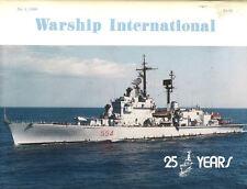 WARSHIP INTERNATIONAL NO.1 1988 USS ALABAMA COLOR / ITALIAN CRUISER CAIO DUILIO
