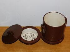 vintage LOT FILTRE ancien COFFEE old filter à CAFE Sarreguemines TERRE de FEU
