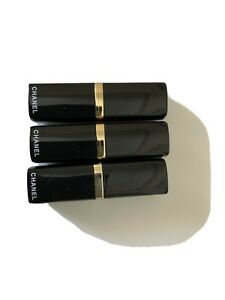 3 CHANEL LIPSTICK, ASSORTED, NEW