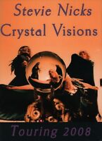 STEVIE NICKS 2008 CRYSTAL VISIONS TOUR CONCERT PROGRAM BOOK BOOKLET / NMT 2 MINT