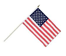 "48 Usa American Stick Flags 12""x18"""