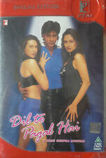 Dil To Pagal Hai (2 Disc Special Edition)  - Bollywood Movie DVD - SHAHRUKH KHAN