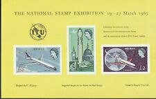 National Stamp Exhibition 1965 Of Qeii