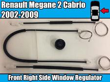 Kit De Reparación Regulador de Ventana para Renault Megane 2002-2009 Delantero Derecho Puerta Lateral