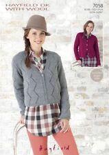 Hayfield Wool Knitting Patterns Supplies