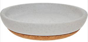 AQUANOVA Grey Arona Soap Dish 3x12cm