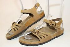 Birkenstock Germany Made Womens 5 36 Bali Leather Sandals Footbed Shoes