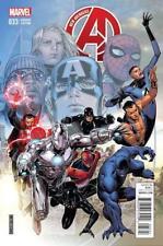 New Avengers #33 Cheung End Of An Era Var TRO VF/NM