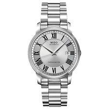 Mido Baroncelli Silver Automatic Analog Men's Watch M010.408.11.033.09
