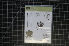 Stampin' Up! LOTUS BLOSSOM Clear Mount Photopolymer Stamps Set ~ Flowers/Floral
