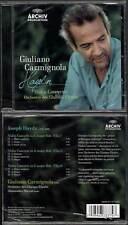 """JOSEPH HAYDN """"Violin Concertos"""" (CD) Giuliano Carmignola 2012 NEUF"""