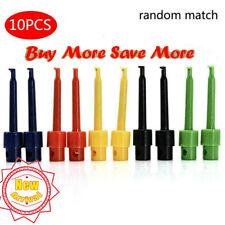 10x Multimeter Lead Wire Kit Test Hook Clip Grabbers Test SMD SMT Probe
