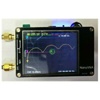 """Nano VNA Vector Network Analyzer HF VHF UHF Antenna 2.8"""" TFT Screen 50KHz-900MHz"""