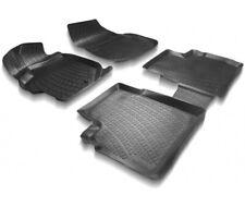 3D Fußmatten für Fiat 500X Gummimatten hoher Rand 4 Teilig Schale hoher Rand