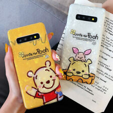 Winnie The Pooh Piglet Shell Pattern Glossy Soft Phone Case For Samsung S20 S10P