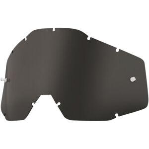 Lente Dark Smoke Fumè per occhiali 100% Racecraft - Accuri - Strata