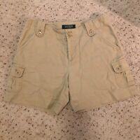 Lauren Ralph Lauren Women's  Cargo Shorts Khaki Beige Size 2P Linen/ Cotton