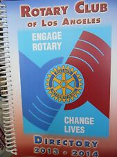 Rotary of Los Angeles: Light Up Rotary Directory 2013-2014