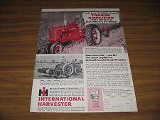 1955 Print Ad McCormick Farmall 300 Tractors Torque Amplifier Chicago,IL