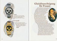Rolex Oyster catálogo-final 1970er años-gasto mensual importante para ustedes-muchos modelos Oyster