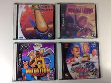Sega Dreamcast NEO GEO Lot Of 4 Video Games Last Resort Mutation Nation Ninja