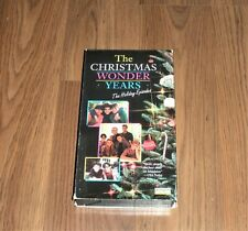 Fred Savage The Wonder Years:Christmas Wonder Years The Holiday Episodes VHS
