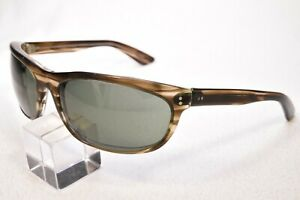 VINTAGE BAUSCH & LOMB RAY-BAN BALORAMA G15 GREEN GLASS LENS SUNGLASSES USA AS IS