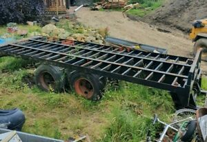 Skeleton Trailer Lorry Trailer Container Trailer 20Ft Self Build