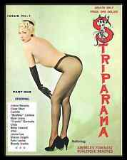 Striparama One & Two Burlesque Striptease Selbee Strippers ebooks on CD