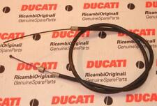 """Vintage Ducati Guzzi clutch or brake cable 37.75"""" long housing 10.5"""" exposed  #S"""
