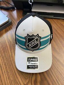 Fanatics 2019 NHL All Star Game Stretch Fit Mens S/M Flex Cap San Jose Sharks