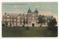 Berks Hall, Muhlenberg College ALLENTOWN PA Vintage Pennsylvania Postcard