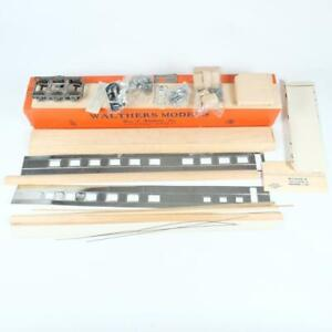 Walthers Undecorated Diner Passenger Car Metal & Wood Kit O Scale 4830