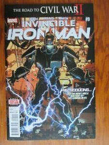 The Invincible Iron Man 9  First Print First Appearance Riri