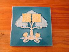 Jugendstil Fliese Art Nouveau Tile Kachel England Herzen