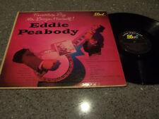 """Eddie Peabody """"Favorites By Mr. Banjo, Himself"""" LP"""