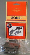 LIONEL 027 TRACK CLIPS train clip tubular 3 rail connector lock 6-62901 NEW