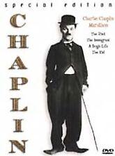 Charlie Chaplin Marathon (DVD, 1999, Special Edition) NEW 4 Movies