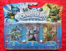 ZAP HEX DINO-RANG Skylanders Triple Pack E, 3 Skylander figures, OVP-NEW