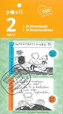 Finland 2006 Used Sheet - Family Life Cartoon - Watching TV - First Day Cancel