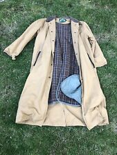 Cabela's Jacket/Coat Womens Barn Duster Trench Canvas Size Large
